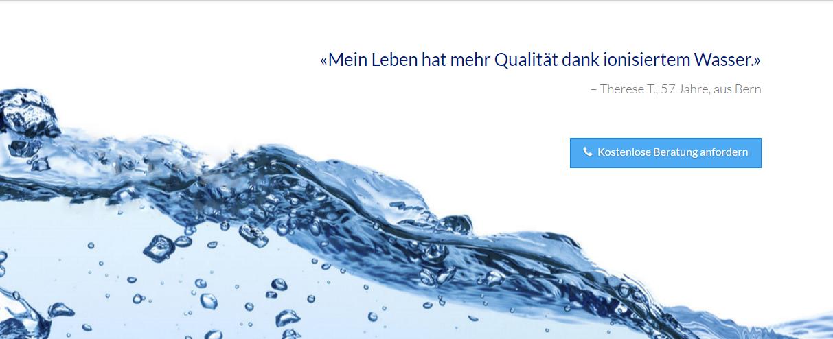 Häufig Elysion Basenwasser - Ionisiertes Wasser selber herstellen VI66